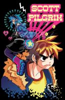 Scott Pilgrim by t3rrorbunny