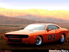 Dodge Charger General Lee by vinyo