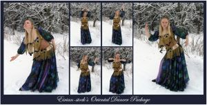 Oriental Dancer Package by Eirian-stock