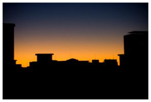 Sunset in Valladolid by 00ailen00