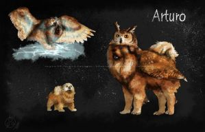 Arturo .:Hijihound ref:. by April-Springs