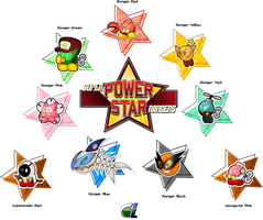 Paper Mario: Super Power Star Rangers by DPghoastmaniac2