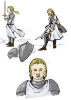 Female Paladin colours by Anararion