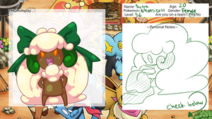 PMD Application - Sutra by amberdragonling