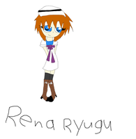 Fail drawing of Rena....... by Ask-Tith