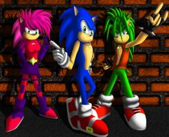 Sonic Underground by ewered