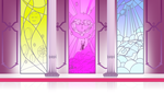 Throne Room Stained Glass Windows Background by tamalesyatole
