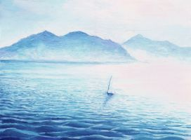 Calm Sea - Dougy by scottish