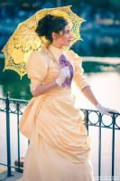 Jane Porter from Tarzan Cosplay at Disneyland by glimmerwood