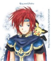 .:.:. Roy and Pichu .:.:. by navi-the-cute-fairy