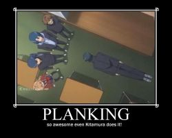 Toradora planking motivational poster by thegirlsgeneration89
