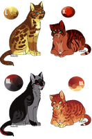 [Mystery Adopts] : Set 2 by Panderoo
