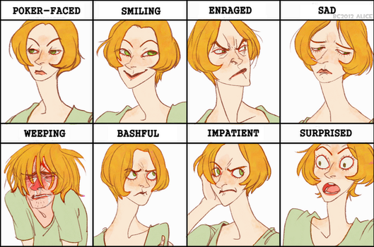 expression meme alice by BusyCoroner