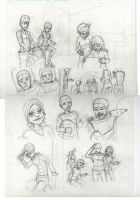page 2 pencils  by sorryface