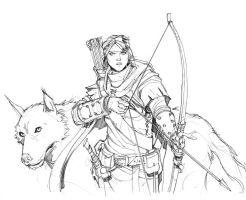 Tracker Team Pencils by Max-Dunbar