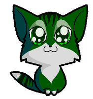 Slytherin Kitty adopt by SlytherinJellyBean