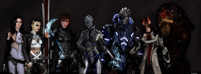 Mass Effect Heroes by TuftTail