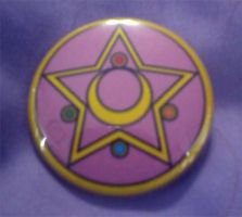Sailor Moon Brooch Button by cosplay-kitty