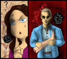 Hannibloom - What is that? by FuriarossaAndMimma