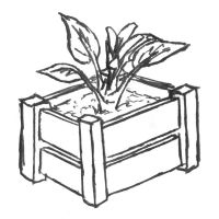Crate Planter by StooBainbridge