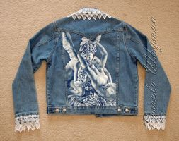 Cupid and Psyche, Jacket by LightCircleArt