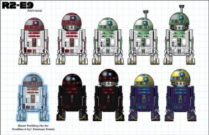 Meet R2-E9 and friends by stourangeau