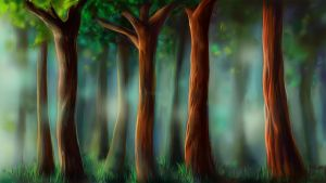 Forest by Vickimai