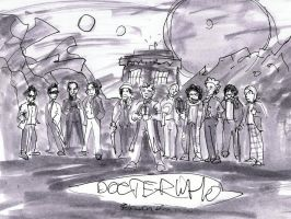 11 Doctors spoof by Draculasaurus