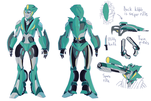 TFP Moonracer - Updated Model by TrufflePopElectric