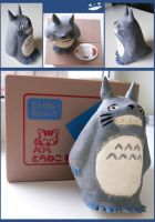 little totoro by LadyElenaNaylor
