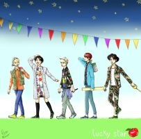 SHINee's Lucky Star by MailysPit