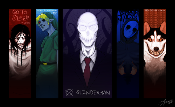 Creepypasta Wallpaper by SUCHanARTIST13