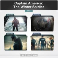 Captain America: The Winter Soldier (Folder Icon) by limav