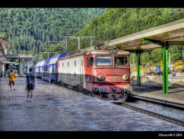 voyager en train... by Iulian-dA-gallery