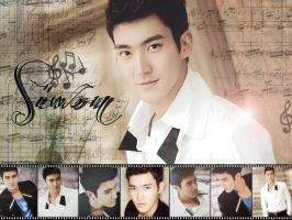 Super Junior 2012 calendar Siwon by ForeverK-PoPFan