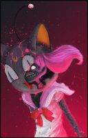 Zombie Chibi Moon by lunchmuffin