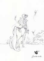 Centaurette by giulal
