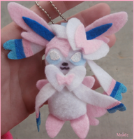 Pokemon Sylveon Plush Keychain by Monkiki62
