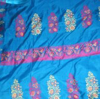 Sari Fabric 3 by Falln-Stock