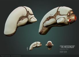 The Messenger - Ivory Skin by PLyczkowski