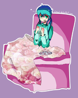 Miku's ill by nihhal