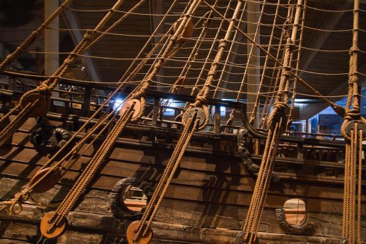 Rigging on the Vasa by parallel-pam
