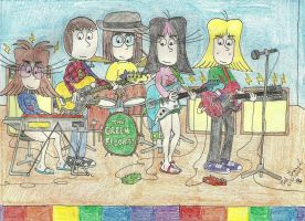 A Busy Band by gretzelboy89