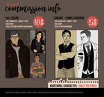 - paypal commissions open! by Panhard
