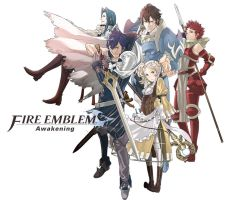 Fire Emblem Awakening Collage 1 by M33Fatty