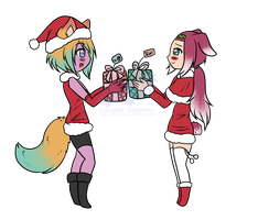 [XmasCM] .:Exchange - Mistiria:. by SomaShiokaze
