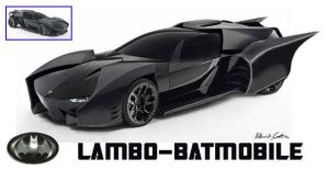Lamborghini Batmobile by death-eats-food
