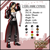 Lydia Reference 2012 by SimplyKeji
