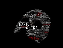 phantom of the opera typography by praetor-FEMI
