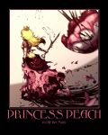 Princess Peach Motivational Poster by preetkiran1016